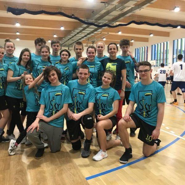 Sky This - szkółka ultimate na Halowych Młodzieżowych Mistrzostwach Polski 2020