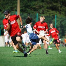 Pozycje na boisku w ultimate frisbee